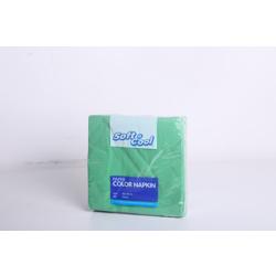 Hotpack 1000- Piece Paper Napkin Set Green 40x 40 centimeter
