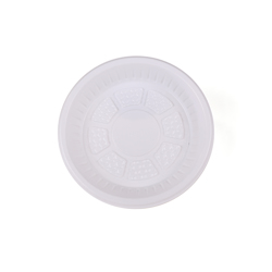 Hotpack Pack Of 20 Round Plastic Plate White 9 inch