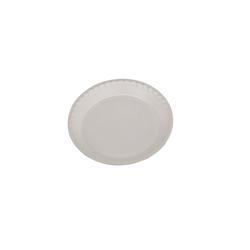 Hotpack 480-Piece Round Foam Plate White 12 inch