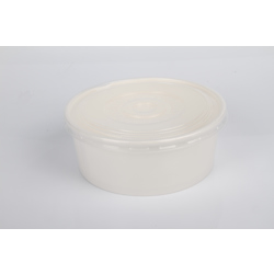 Hotpack 600-Piece Paper Soup Bowl White 900 ml