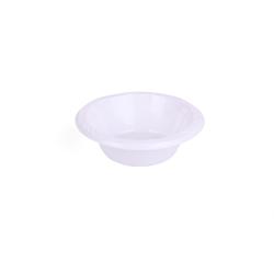 Hotpack Plastic Bowl White 10 cm