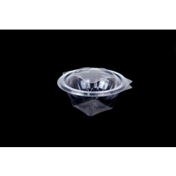 Hotpack 300- Piece Round Clear Salad Bowl Set Clear 8 ounce