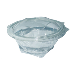 Hotpack 300- Piece Round Clear Salad Bowl Set Clear 32 ounce