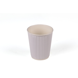Hotpack 500- Piece Paper Ripple Wrap Cup Set White 16 ounce
