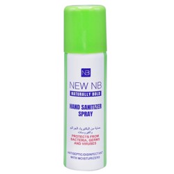 New NB Hand Sanitizer Spray - 60ml (1x192pcs)