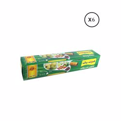 Hotpack 6-Piece Food Wrap Cling Film Set Clear