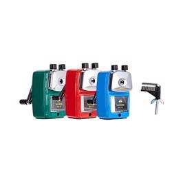 Nanmee Desk Sharpener/Crank Sharpener -Red -1 Pc