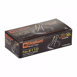Elephant Binding Clips 32mm -1 Box of 12Pk