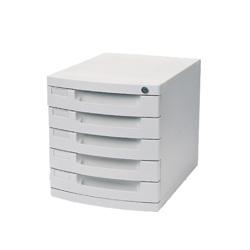 Deli File Cabinet(Pale Grey)