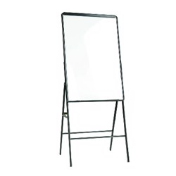 Deli Easel Whiteboard 900 x 600Mm(Black)