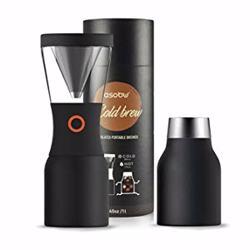 ASOBU Coldbrew Insulated Portable Brewer Black