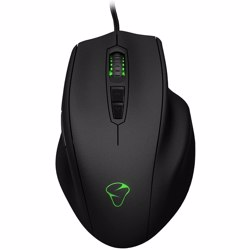 Mionix NAOS 8200 Multi Color Ergonomic Laser Gaming Mouse - Black