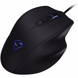 Mionix NAOS 7000 Multi Color Ergonomic Optical Gaming Mouse - Black preview