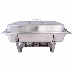 Raj Stainless Steel Square Hydraulic Chafing Dish Gl (Induction)7L