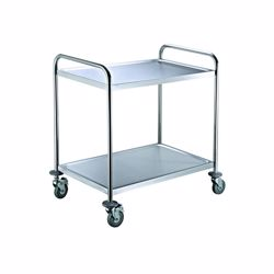 Chefset Steel 2 Tier Trolley Large