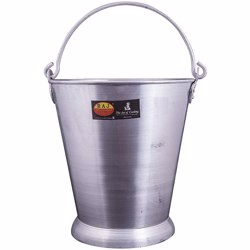 Raj Aluminium Bucket 10 L