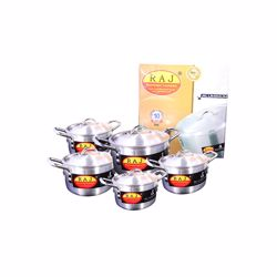 Raj Pak Alu Cooking Pot Set 4X8