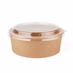 Galaxy Pack Kraft Bown Salad Bowl Pet Lid