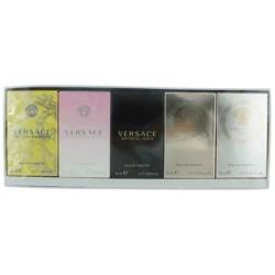 Versace Yellow Diamond Edt 5Ml+Bright Crystal 5Ml+Crystal Noir 5Ml+Eros (W) Edp 5Ml+Eros (W) Edt 5Ml