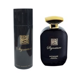 Signature Black (M) Edp 100Ml+200Ml Deodorant Set