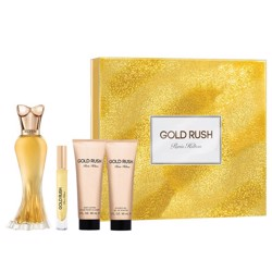Paris Hilton Gold Rush (W) Edp 100Ml+6Ml Mini+90Ml Bl+90Ml Sg Set