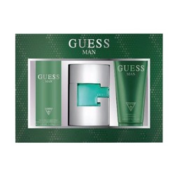 Guess Green (M) Edt 75Ml+200Ml Sg+226Ml Body Spray Gift Set