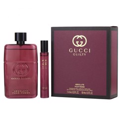 Gucci Guilty Absolute (W) Edp 90Ml+7.4Ml Mini Travel Set