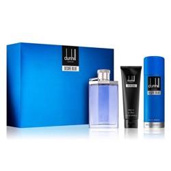 Dunhill Desire Blue (M) Edt 100Ml+90Ml Sg+195Ml Body Spray Set