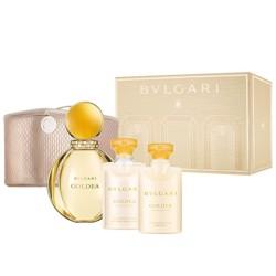 Bvlgari Goldea Edp 90Ml+75Ml Bm+75Ml Bath & Sg+Pouch Set