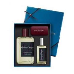 Atelier Cologne Vetiver Fatal Absolue Edp 100Ml+30Ml+Leather Case Travel Set