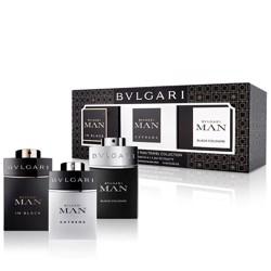 Bvlgari Man In Black Edp 15Ml+Man Extreme 15Ml+Man Black Cologne 15Ml Mni Set