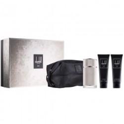 Dunhill Icon (M) Edp 100Ml+90Ml Asb+90Ml Sg Toiletry Bag Set