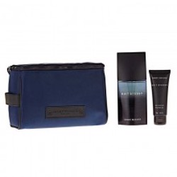Issey Miyake Nuit D''''Issey (M) Edt 125Ml+75Ml Sg+Toiletry Bag Set