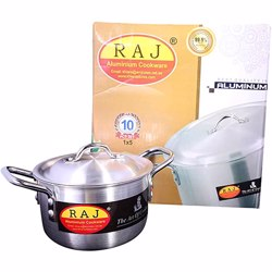 Raj Pak Alu Cooking Pot Set 11X14