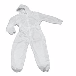 Disposable Coverall with Hood 25GSM - Free Size preview