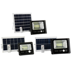 Plato 120W SMD Solar Floodlight with Remote
