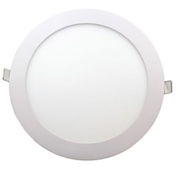 6W Round Glass Panel (White + Warm White + Day Light)