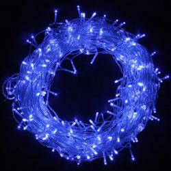 100 LED White String Christmas Light (Blue)