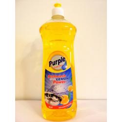 Purple Dishwashing with Lemon Powder 1Ltr