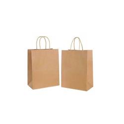 BioWare 400 Piece Kraft Bags 21*14*27cm