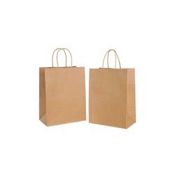 BioWare 300 Piece Kraft Bags 28*15*28cm