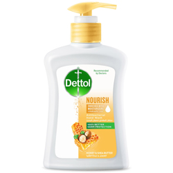 Dettol Nourish Anti-Bacterial Liquid Hand Wash 200ml (Honey & Shea Butter) preview