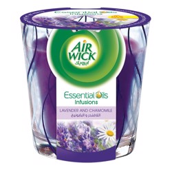 Air Wick Air Freshener Candle Lavender & Camomile,105g, (1x6pcs)