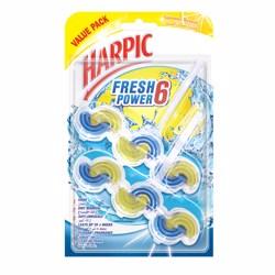 Harpic Toilet Block Fresh Power 6 Summer Breeze, Value Pack 2x39g, (1x6pcs)