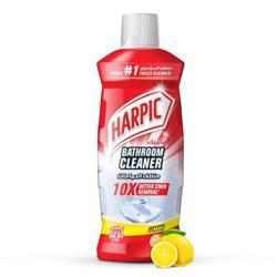 Harpic Bathroom Cleaner 1L Bottle Lemon, (1x12pcs)