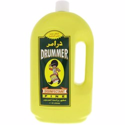 Drummer Pine Disinfectant Liquid, 4L, (1x5pcs)