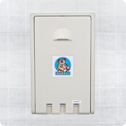 Koala Kare USA Baby Changing Stations Vertical Wall Mounted - Cream
