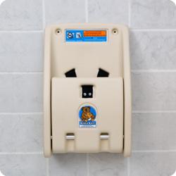 Koala Kare USA Baby Changing Stations Child Protection Seat - Cream
