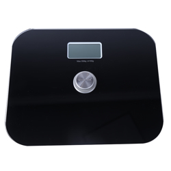 Roomwell Battery Free Bathroom Scale - Black