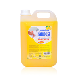 Famouss Hand Wash Lemon - 5 Liters